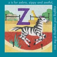 Z is For Zebra Fine-Art Print