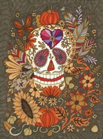 Autumn Skull Fine-Art Print