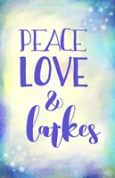 Peace Love Latkes Fine-Art Print