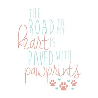 Paved With Pawprints Fine-Art Print