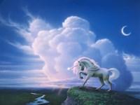 Rainbow Unicorn Fine-Art Print