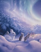 Snuggle Bunnies Fine-Art Print