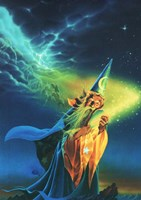 The Wizard Fine-Art Print