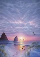 Radiant Seashore Fine-Art Print