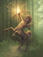 Child Centaur Fine-Art Print