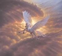 Pegasus, Spirit Of The Sky 2 Fine-Art Print