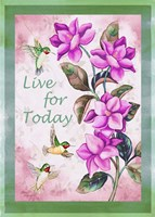 Live for Today - Vertical Fine-Art Print