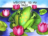 Welcome to my Pad Fine-Art Print