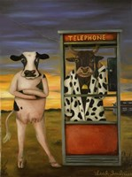 Cattle Call Fine-Art Print