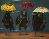 Ravens Rain Fine-Art Print