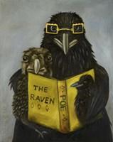 Ravens Read Fine-Art Print