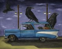 Ravens Ride Fine-Art Print