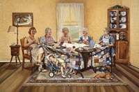 The Quilting Party Fine-Art Print