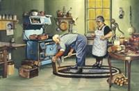 The Woodchopper Fine-Art Print