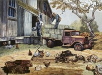 The Feed Store Patrons Fine-Art Print