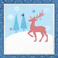 Christmas Deer 1 Fine-Art Print