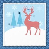 Christmas Deer 2 Fine-Art Print