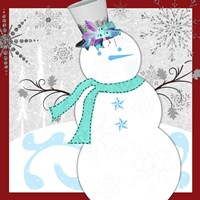 Christmas Snowman 1 Fine-Art Print