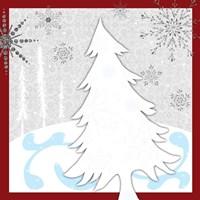 Christmas Snowman Tree Fine-Art Print