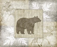 Decorative Lodge Bear 1 Fine-Art Print