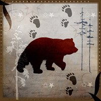Bear Tracks Fine-Art Print
