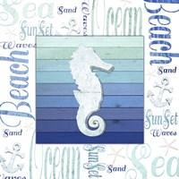 Gypsy Sea Blue 3 Framed Print
