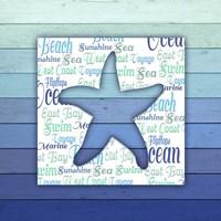 Gypsy Sea Blue V4 4 Fine-Art Print