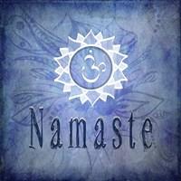 Chakras Yoga Namaste V1 Fine-Art Print