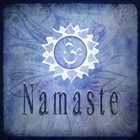 Chakras Yoga Namaste V2 Fine-Art Print