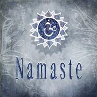 Chakras Yoga Namaste V3 Fine-Art Print