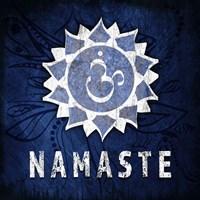 Chakras Yoga Symbol Namaste Fine-Art Print