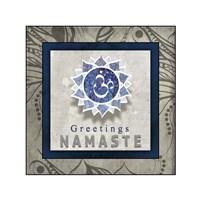 Chakras Yoga Tile Namaste V1 Fine-Art Print