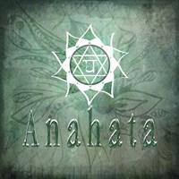 Chakras Yoga Anahata V1 Fine-Art Print