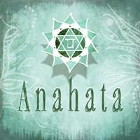 Chakras Yoga Anahata V3 Fine-Art Print