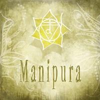 Chakras Yoga Manipura V3 Fine-Art Print