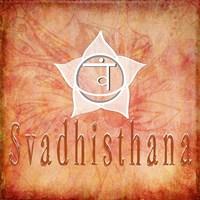 Chakras Yoga Svadhisthana V1 Fine-Art Print