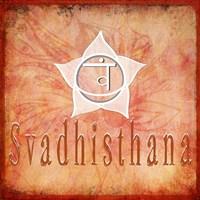 Chakras Yoga Svadhisthana V2 Fine-Art Print