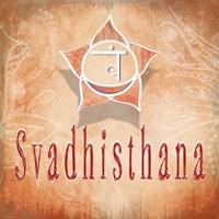 Chakras Yoga Svadhisthana V3 Fine-Art Print