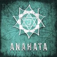 Chakras Yoga Symbol Anahata Fine-Art Print