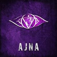 Chakras Yoga Symbol AJNA Fine-Art Print