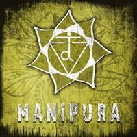 Chakras Yoga Symbol Manipura Fine-Art Print