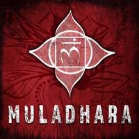 Chakras Yoga Symbol Muladhara Fine-Art Print