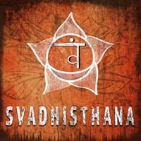 Chakras Yoga Symbol Svadhisthana Fine-Art Print