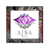 Chakras Yoga Framed AJNA V2 Fine-Art Print