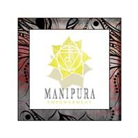 Chakras Yoga Framed Manipura V2 Fine-Art Print