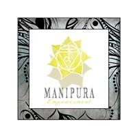 Chakras Yoga Framed Manipura V3 Fine-Art Print