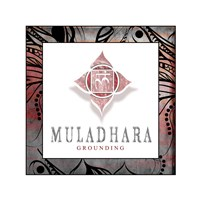 Chakras Yoga Framed Muladhara V2 Fine-Art Print