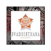 Chakras Yoga Framed Svadhisthana V2 Fine-Art Print