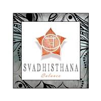 Chakras Yoga Framed Svadhisthana V3 Fine-Art Print
