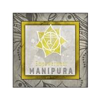 Chakras Yoga Tile Manipura V1 Fine-Art Print